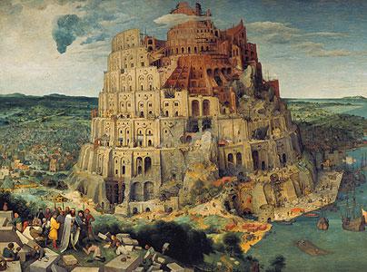 Der Turmbau von Babel - Pieter Brueghel