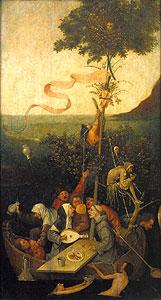 Das Narrenschiff - Hieronymus Boschme