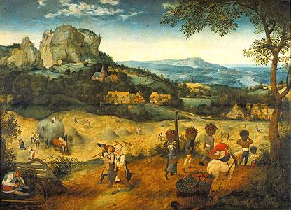Die Heuernte - Pieter Brueghel