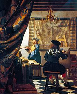 Die Malkunst - Jan Vermeer