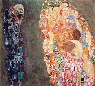 Tod und Leben - Gustav Klimt