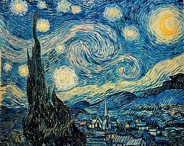 Sternen-Nacht - Vincent van Gogh