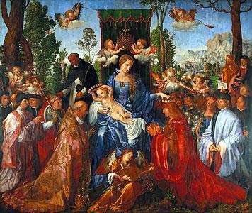 Das Rosenkranzfest - Albrecht Dürerme