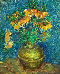 Kupfervase mit Kaiserkronen - Vincent van Gogh