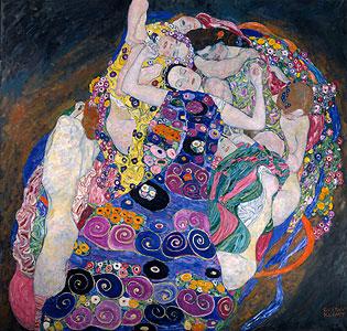 Die Jungfrau - Gustav Klimt