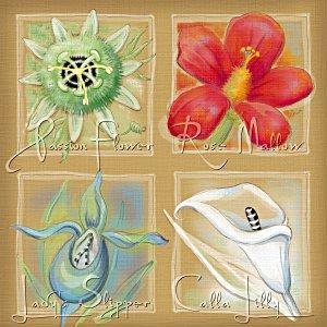 Vier Blüten - Almuth