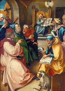 D�rer, Albrecht - Der zw�lfj�hrige Jesus im Tempel - Albrecht D�rer