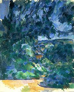 Blaue Landschaft - Paul Cezanne