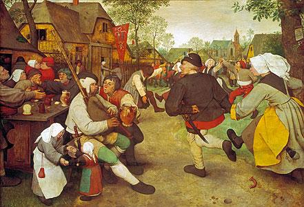 Bauerntanz - Pieter Brueghel