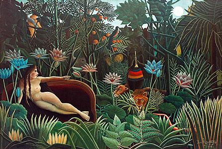 Der Traum - Henri Rousseau