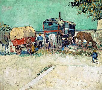 Die Wohnwagen - Vincent van Gogh