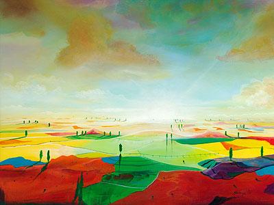 Farbfelder - Silvian Sternhagel