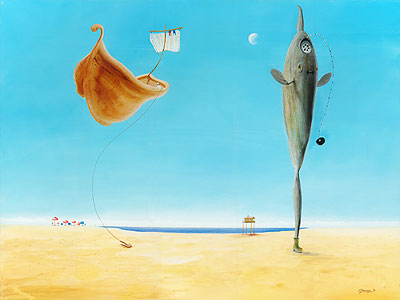Mondfisch mit Wasserabfluß - Silvian Sternhagel
