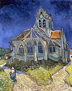 Die Kirche von Auvers-sur-Oise - Vincent van Gogh