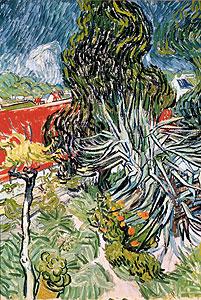 Der Garten des Doktor Gachet - Vincent van Gogh