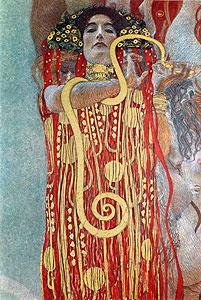 Hygieia - Detail) - Gustav Klimt