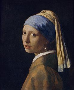 Das Mädchen mit der Perle - Jan Vermeer