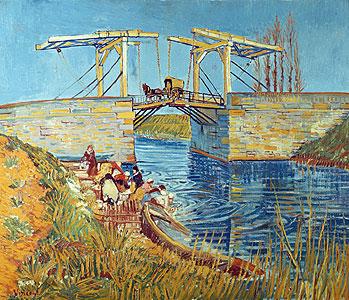 Zugbrücke in Arles - Vincent van Gogh