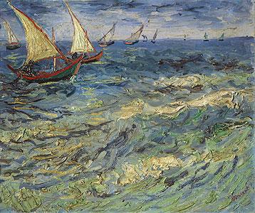Gogh, Vincent van - Fischerboote bei Saintes-Maries - Vincent van Gogh