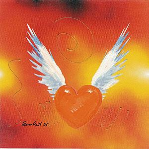 Herzbilder - Flying Heart - 17) - Remo Keist