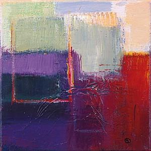 Violet Statics II - Bea Danckaert