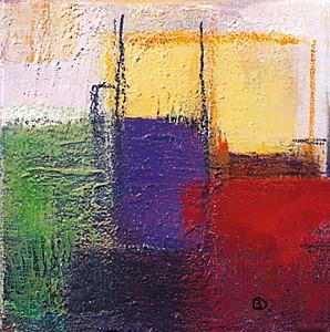 Violet Statics III - Bea Danckaert
