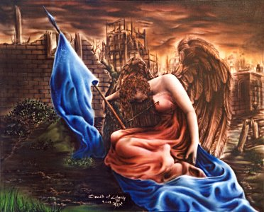 The death of Liberty - zher