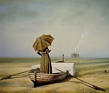 Böcklins Toteninsel, versetzt - Siegfried Zademack