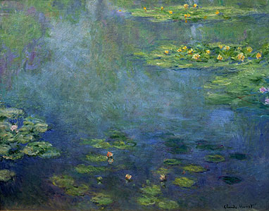 Monet, Claude - Seerosenteich - Claude Monet