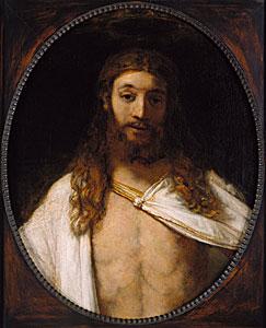 Rembrandt - Der auferstandene Christus - Rijn van Rembrandt