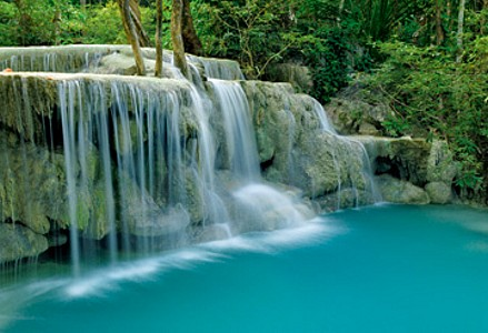 Seven-Step Waterfall I - Thomas Marent