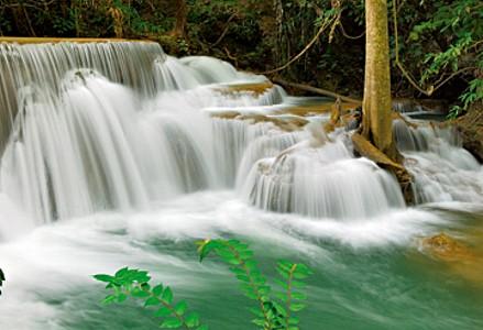 Seven-Step Waterfall IV,Erawan - Thomas Marent