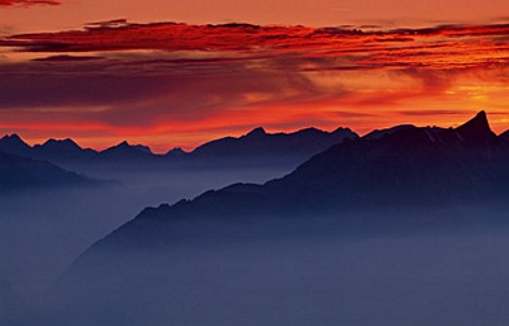 Sunset on Niederhorn I - Thomas Marent