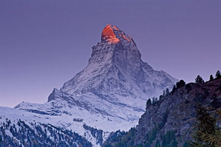 Matterhorn with larches III - Thomas Marent
