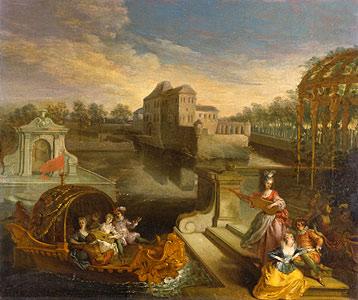 Watteau, Jean Antoine - Fr�hling - Jean Antoine Watteau