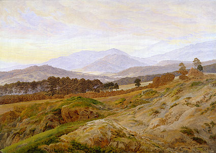 Riesengebirgslandschaft - Caspar David Friedrich