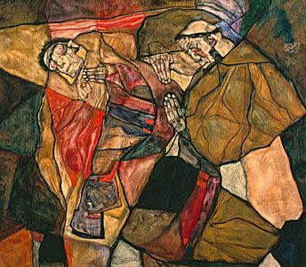 Agonie - Egon Schiele