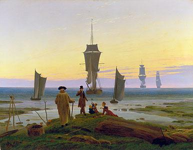Die Lebensstufen - Caspar David Friedrich