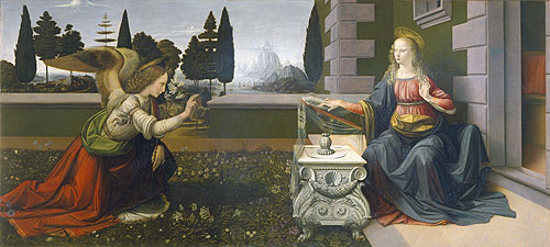 Die Verkündigung Mariae - Leonardo da Vinci
