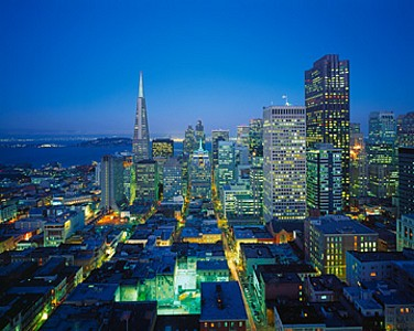 Downtown, San Francisco - Huber Images