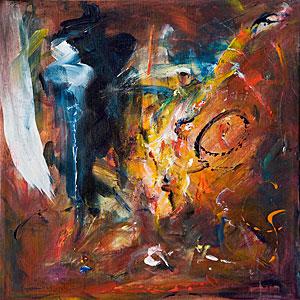 Abstrakt - Der Gebieter - Ganesh