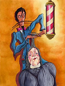 Der Friseur - Barnim Millarg