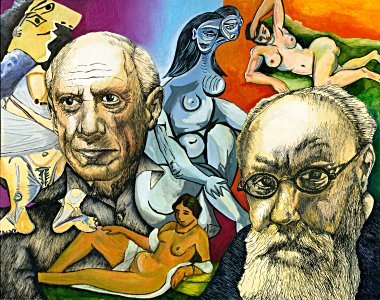 Picasso & Matisse - Barnim Millarg
