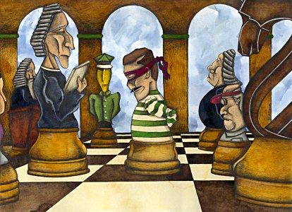 Spiel der Justiz - Barnim Millarg