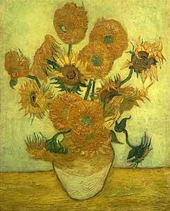 Vierzehn Sonnenblumen - Vincent van Gogh