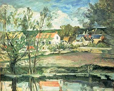 Im Tal der Oise - Paul Cezanne