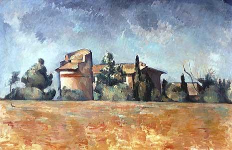 Pigeonnier de Bellevue - Paul Cezanne