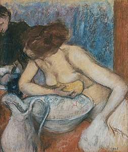 La Toilette - Edgar Degas