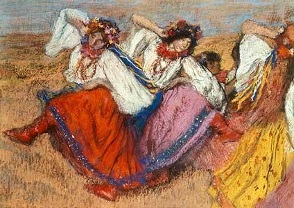 Die roten T�nzerinnen - Edgar Degasme