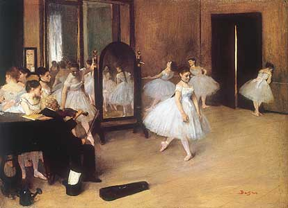 Tanzklasse - Classe de danse) - Edgar Degas